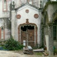Recuperação Palácio Sintra - Porta de Entrada (Original)