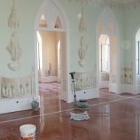 Recuperação Palácio Sintra - Portas Interiores Lacadas (Trabalho Final)